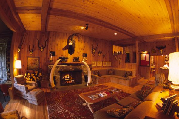 Interior of the Lodge