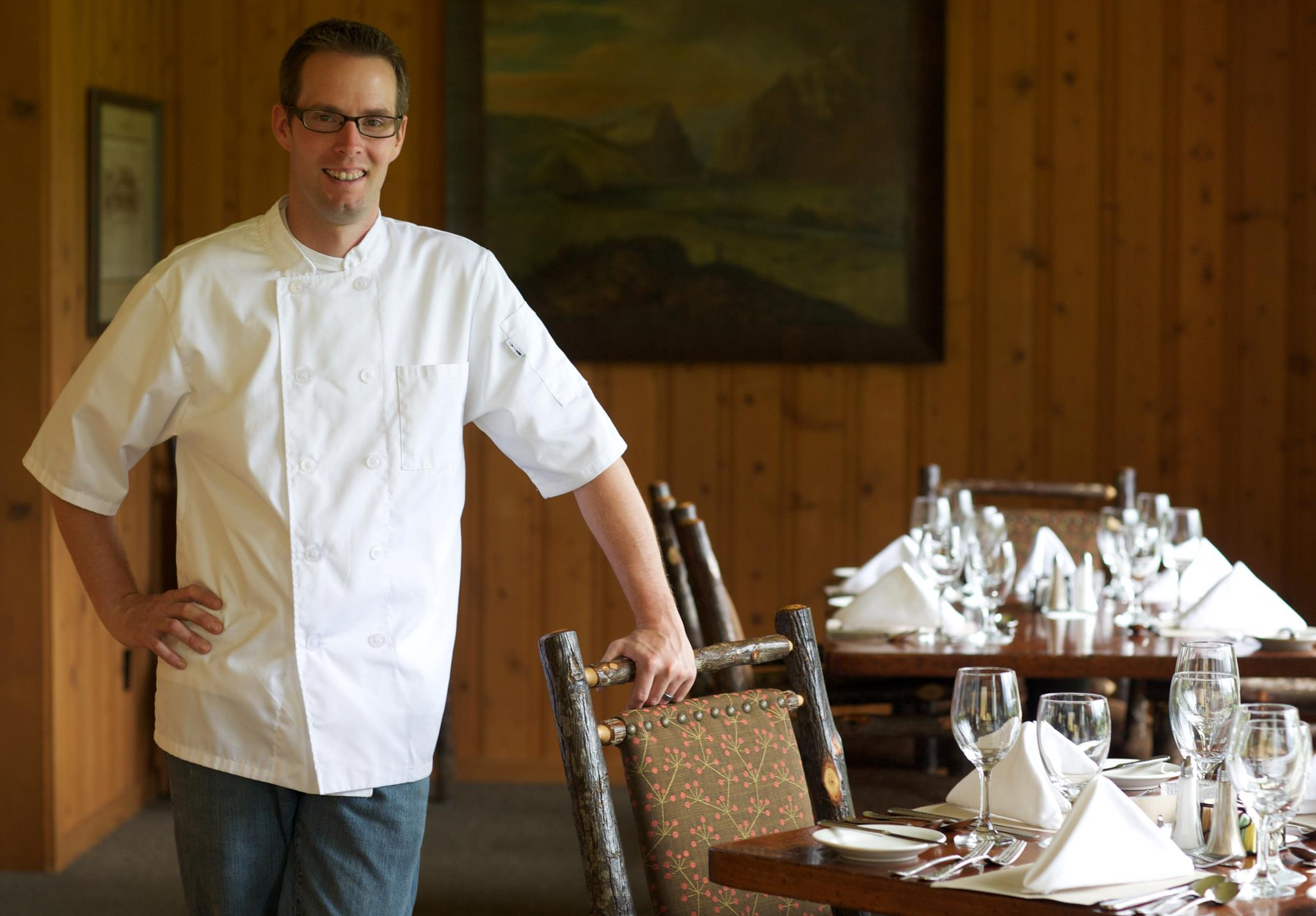 4UR Ranch's Executive Chef Wray Warner