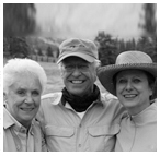 Owners Mary Lee (Leavell) Pinkerton, Pete and Lindsey Leavell.