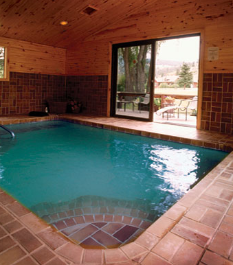Soak away all cares in our spring fed hot pool.