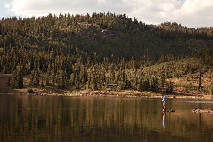 Adults only weeks at 4UR Colorado Fly-fishing ranch