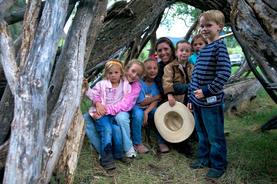 Colorado Family Dude Ranch kids program