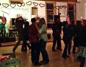 Creede Elks' Dance for Valentines Day 2014 - Rifters