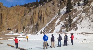 First Annual Creede Curling competition