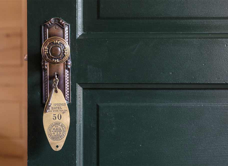 cabin door detail