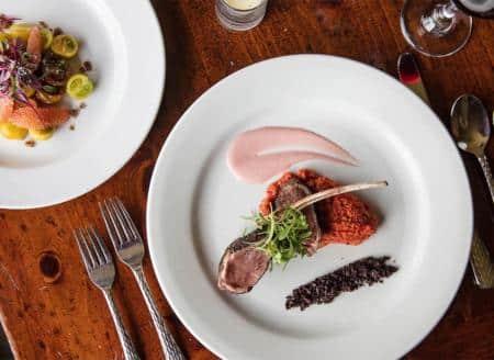 Gourmet ranch dining