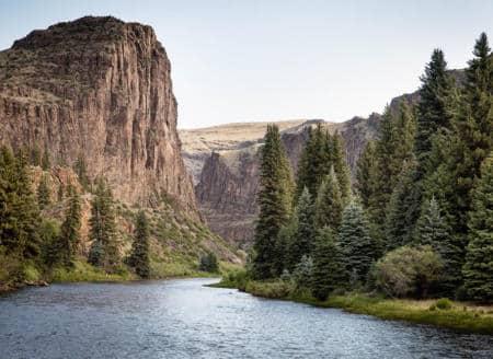 Scenic river view