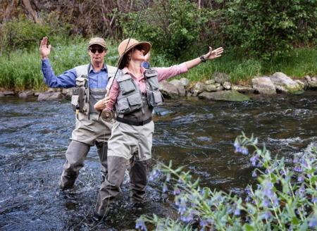 Fly fishing fun at 4UR