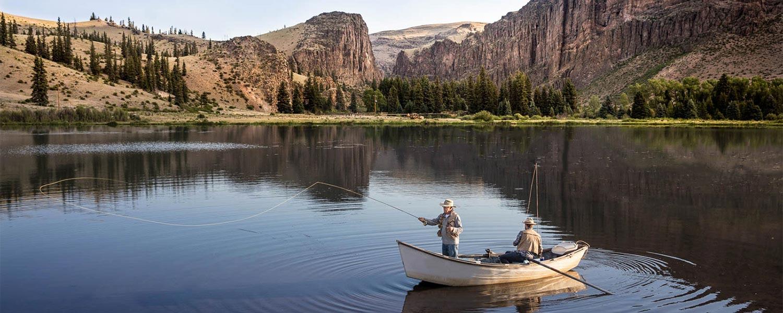 Fishing at 4UR Ranch