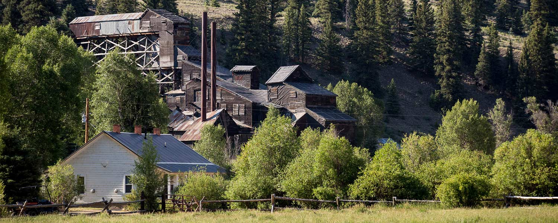 Scenic view at 4UR Dude Ranch in Colorado