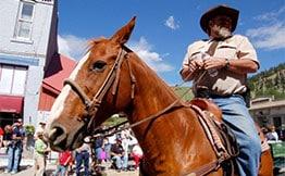Colorado dude ranch vacation activities include exploring Creede, Colorado and the surrounding area at 4UR Ranch