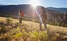 Colorado dude ranch vacation activities include hiking & biking at 4UR Ranch