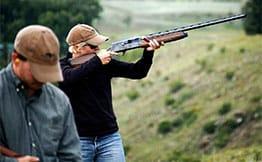 Colorado dude ranch vacation activities include shooting & golfing