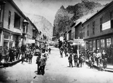 Historic downtown Creede