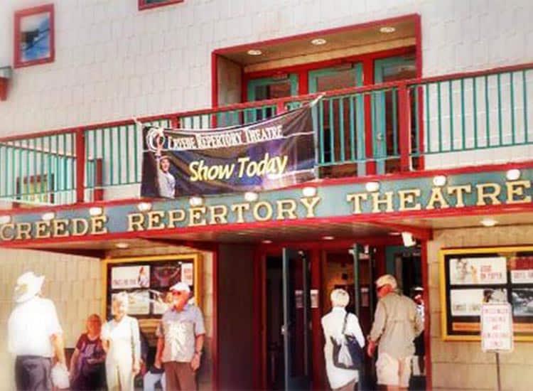 Historic photo of Creede Repertory Theatre