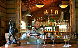 Wine List at 4UR Ranch in Creede, CO