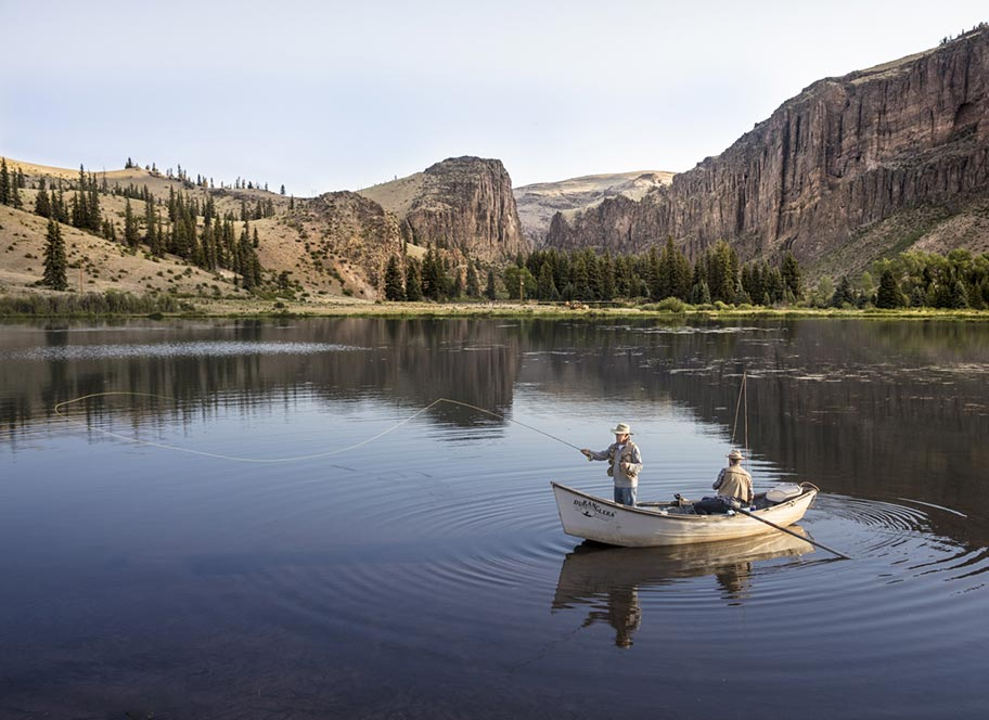 Fly Fishing at 4UR Ranch in Creede CO