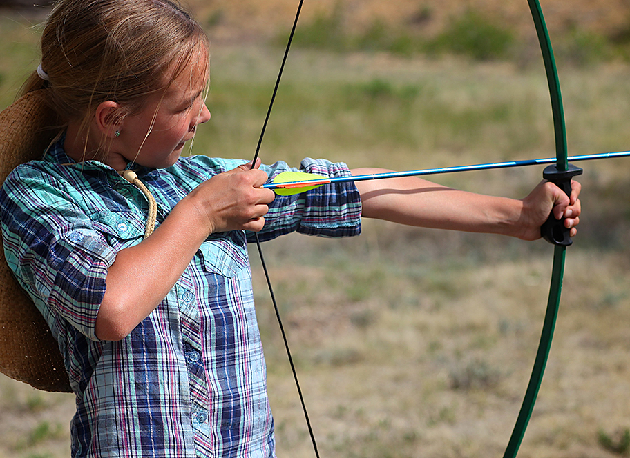 archery for kids and teens at 4UR Ranch in Creede CO
