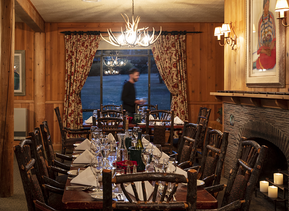 Lodge and Game room at 4UR Ranch in Creede CO